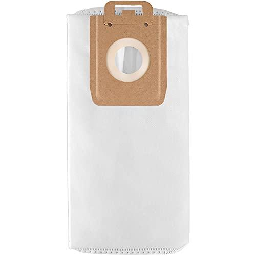 10 Bolsas para Aspirador Nilfisk Select y Power serie, Blanco se incluyen Bolsas y Filtro (10)