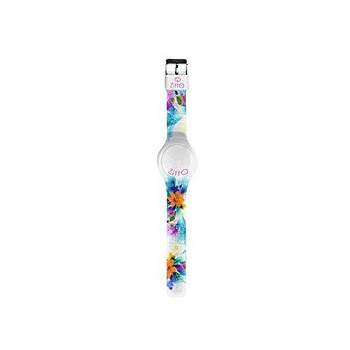 Orologio ZITTO grande a led con cinturino in silicone Limited Edition SAKURA G