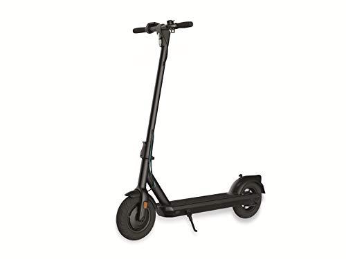 """ODYS αlpha X10 Faltbarer E-Scooter mit Straßenzulassung (max. Geschwindigkeit 20 km/h, bis zu 30 km Reichweite, max. Belastung 120 kg, 10\"""" Luftreifen, Display mit Geschwindigkeits-/Akkustandanzeige)"""