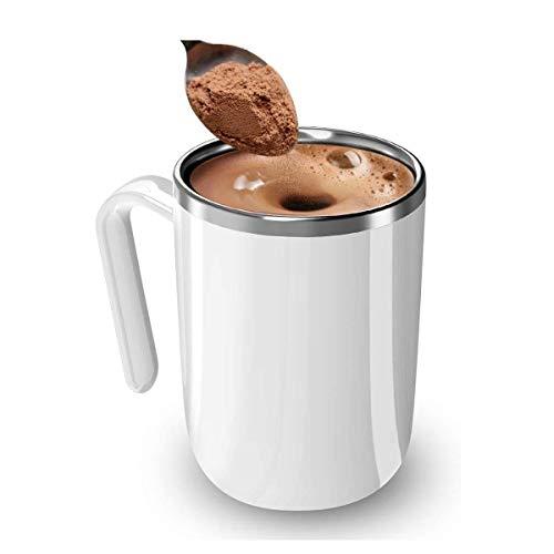JIANGCJ Alto Valor Taza de agitación, batería, sin Cargador, agitador de café, Tazas de café, Fabricante de Chocolate Caliente, Taza de Oficina, Taza de Viaje, Taza Personalizada