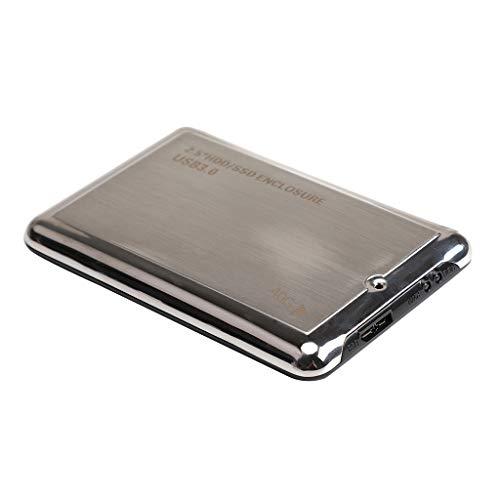 Unidad de Disco Duro Portátil de 7200 RPM de 40 GB, 2,5 Pulgadas SATA III, Negro/Gris 5400 MB/s