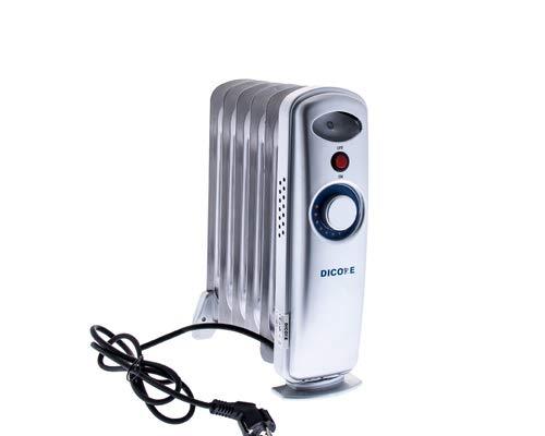 Dicore – Radiador aceite pequeño - 500w - Termostato