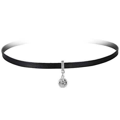 ouyalis Schal Schal Modische Halskette Retro Halsband Water Drill Zirconium Necklace