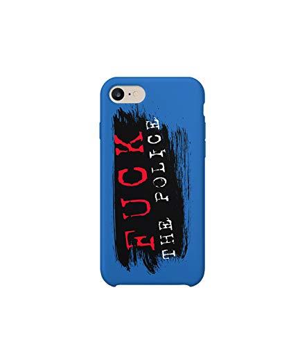 Rap Police 03_MRZ0264 - Funda protectora de plástico duro para teléfono inteligente, diseño divertido para iPhone 6 Plus