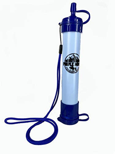 Water Purification Straw. Emergency Preparedness, Wilderness Survival, Hiking Backpacking, Lifeline Purification Straw