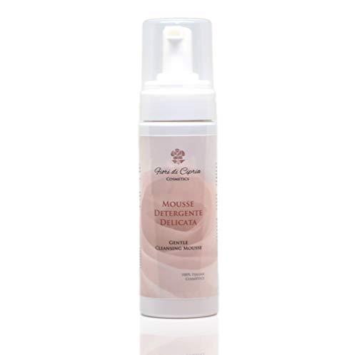 Mousse Detergente Viso Idratante Delicata. DERMOCOSMETICO MADE IN ITALY - Struccante schiumogeno, idratante, antirossore, delicato su occhi e pelle grassa....