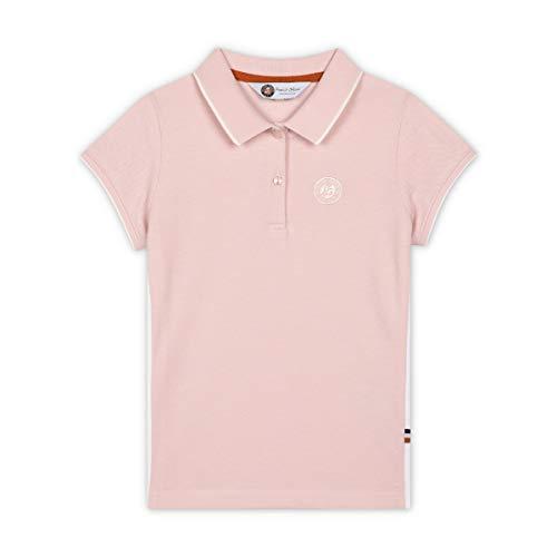 Roland Garros Nelissa Poloshirt Girls, Rosa, 8A
