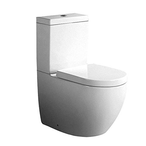 WC-Kombination Sitz aus