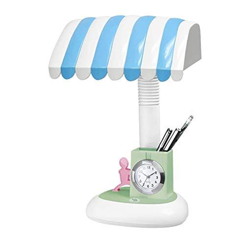 NXYJD Lámpara de Escritorio de Lectura táctil LEDDimmable Escritorio lámpara de Escritorio LED Flexible Protección de los Ojos de la lámpara (Color : A)