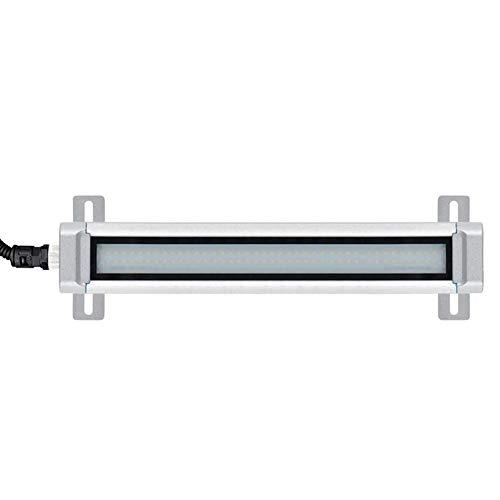 WM Lámpara de Herramientas de Equipo con Base Fija, Luz de Trabajo Led de Aleación de Aluminio 6w 24v para Todas Las Máquinas Herramienta Máquina de Coser de Banco de Trabajo,Blanco