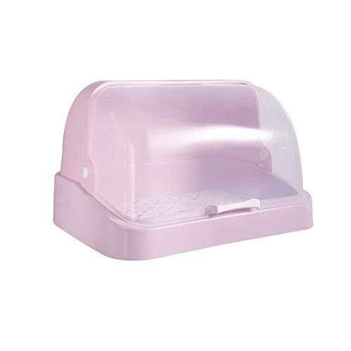 YANGYUAN Rack de tazón de drenaje multifuncional, estante de cocina con estante de almacenamiento de plato de tapa, caja de almacenamiento de vajillas, armario de encimera de talladora de plato de dre