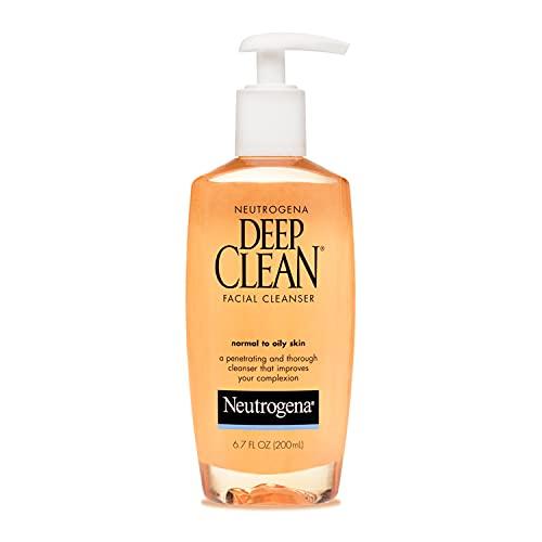 Limpiador Facial Neutrogena Deep Clean Para Piel Normal a Mixta 200 ml