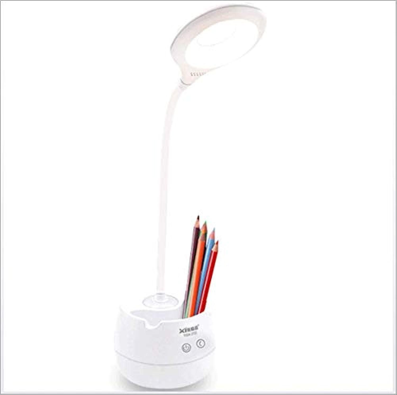 JBP max LED Tischlampe Augenschutz Tischlampe Kinder Leselampe Schreibtisch Studentenwohnheim Wiederaufladbare Lernlampe