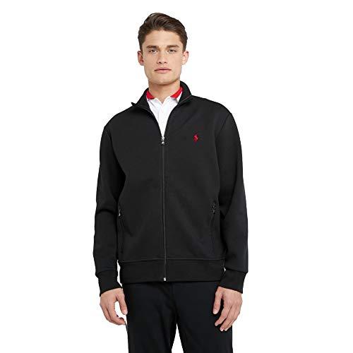 Polo Ralph Lauren Zip Hoodie Custom Slim Fit (XL, Polo Black)