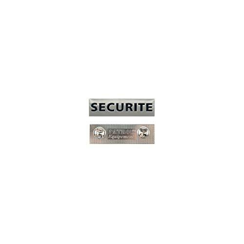 Patrol Equipement Plaque Métal Sécurité