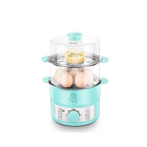 FOUWE Eierkocher 14 Eierkocher Und Wilderer, Mit 8 Kocheinstellungen, 600W