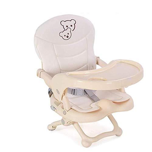 WWWWW stoel voor eetkamer, voor kinderen, draagbaar, babykamer, multifunctioneel, inklapbaar, voor buiten, baby, om te eten, tafel en stoel met kussens, voor baby's, 6 – 36 maanden, 15 kg