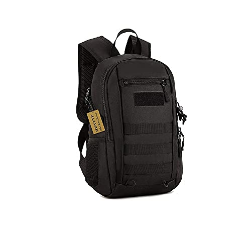 Huntvp 10L/20L Mini Daypack Military MOLLE Backpack Rucksack Gear Tactical Assault Pack Bag for Hunting Camping Trekking