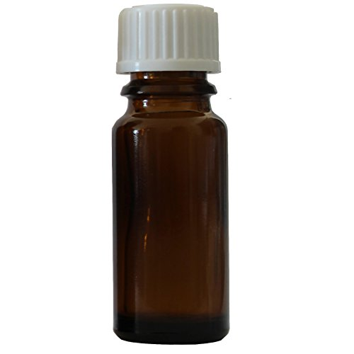 Germerott Bienentechnik 10 x Braunglasflasche, Tropfflasche 10 ml mit Schraubverschluss und Tropfeinsatz DIN 18 weiß in Apothekenqualität Preis pro Flasche 0,96 Euro