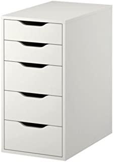 lkea ALEX Drawer Unit, White
