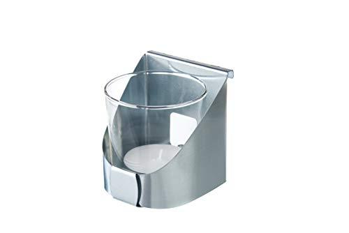 Gabioka Teelichthalter für Gabionen aus Doppelstabmatten und Doppelstabmattenzäune (3, verzinkt)