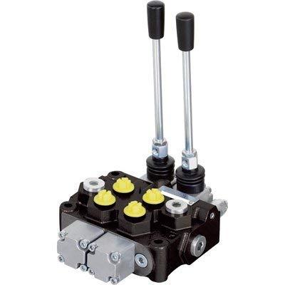 NorTrac Monoblock Hydraulic Control Valve - 12 GPM, 2 Spool from NorTrac