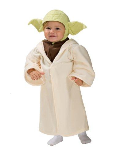 Déguisement Enfant, Costume Yoda Star Wars Enfant, Nourrisson 1-2 Ans