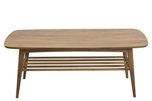 AC Design Furniture Walther Table Basse, Chêne, Naturel, L: 60 x l: 120 x H: 47 cm