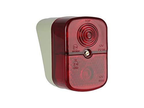 Rücklicht roter Lichtaustritt Schwalbe Vogelserie Simson - BSKL 8522.13/1 - KR51/1, SR4-1, SR4-2, SR4-3, SR4-4
