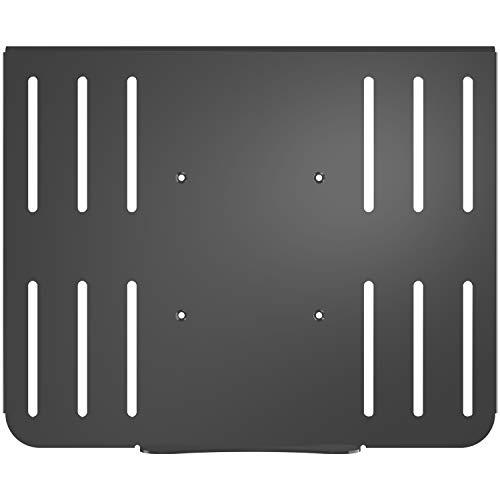 suptek Piattaforma per Vassoio in Acciaio per Notebook per Laptop (Solo Vassoio) per Supporto per Braccio Monitor VESA | Adatto a Fori per Piastra da 10cm TP004