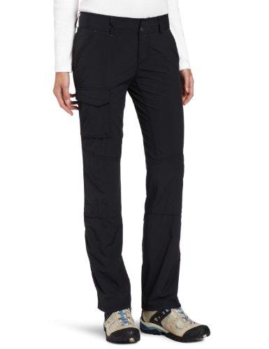 Columbia Femme Pantalon de Randonnée, SILVER RIDGE PANT, Nylon, Noir, Taille: 4, AL8003