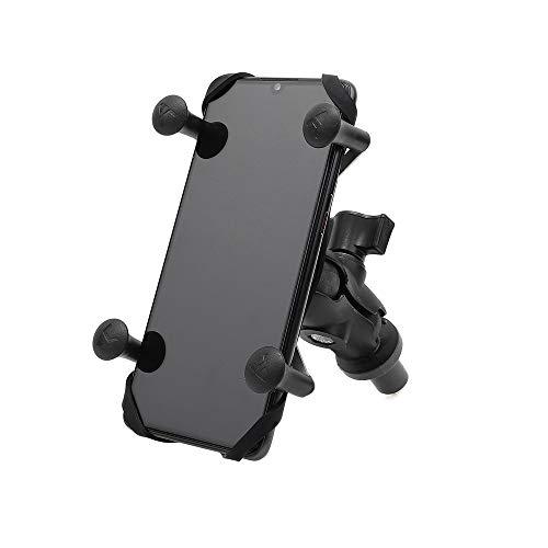 BarBaren Supporto Cellulare Moto Supporto Navigatore Moto per Honda CBR250RR 18-20 CBR500R 13-20 VFR800F 14-18 CBR600RR 03-06 CBR600F4I 01-06 CBR1000RR 08-17