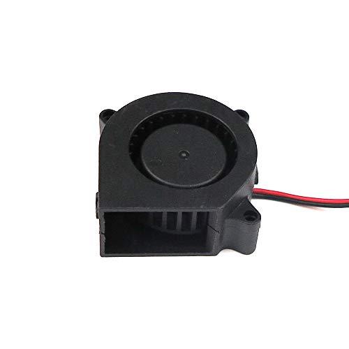 12V 24V 40mm Radiallüfter, doppelt gelagerter 4020 radial Lüfter fan, Sidewinder (24V)