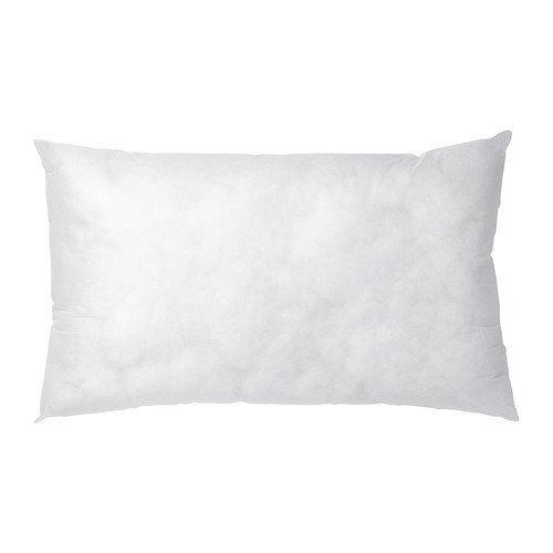 Ikea Inner - Cuscino, 40 x 65 cm, colore: Bianco