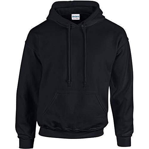 Gildan Heavy Blend Unisex Kapuzenpullover / Hoodie / Kapuzensweater (3XL) (Schwarz)