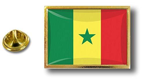 Akacha pin pin pin pin metaal met vlinderklem vlag Senegal Senegal Senegal Senegal