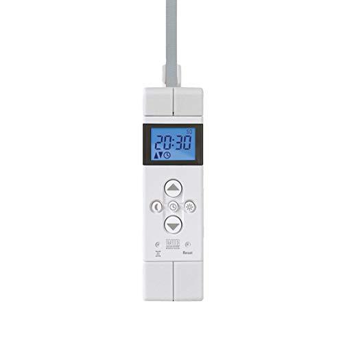 WIR elektronik, eWickler COMPAcT Comfort, eW520-M, kleinste Aufputzgurtwickler, bis 9 kg, für 15 mm Gurtbandbreite, Fahrtzeiten einstellbar, inkl. Netzstecker
