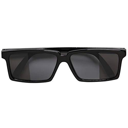 MIK Funshopping Sonnenbrille/Spion-Brille SPY GLASSES black