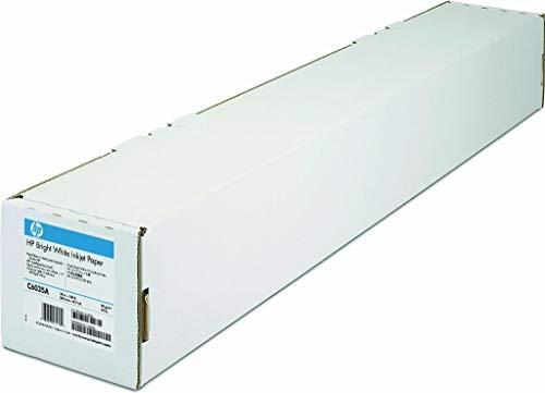 HP C6035A Papier helle weiss Inkjet 90g/m2 610 mm x 45.7m 1 Rölle Pack