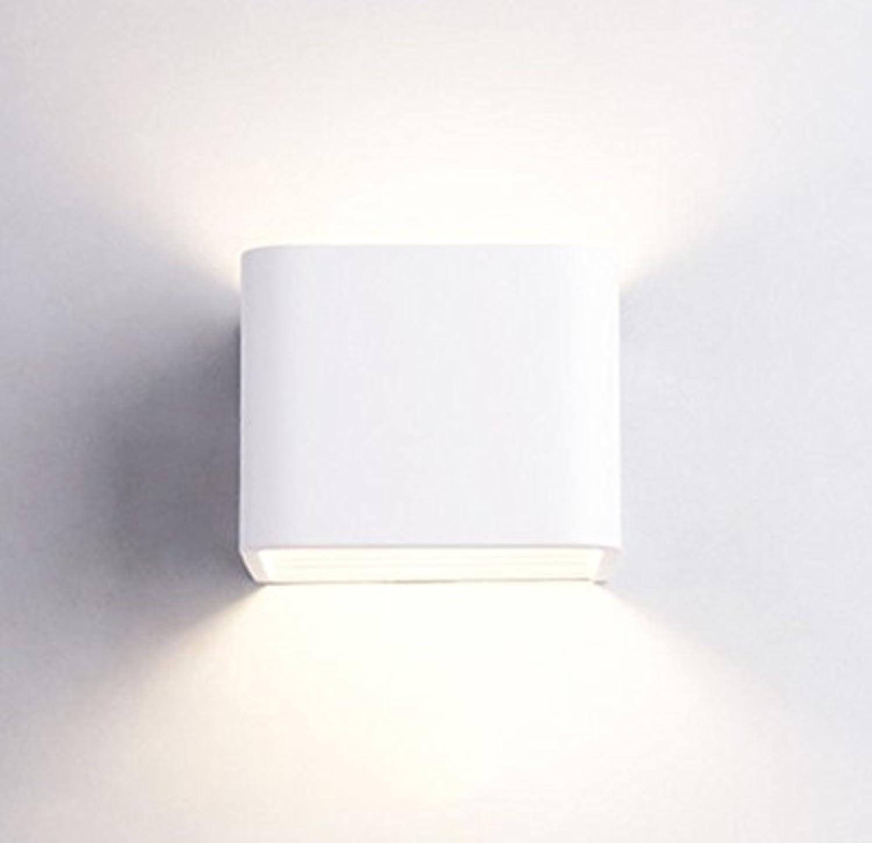 Kreative mode Bed Head Wandleuchte moderne einfachen rechteckigen Gang Wohnzimmer Schlafzimmer Wand Lampe (Gre  10  8  10 cm)