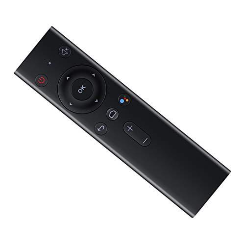 IPOTCH Q8 Mini Teclado de Ratón Inalámbrico con Control de Voz de Negro para Pad
