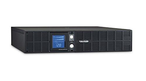 CyberPower OR2200LCDRTXL2U Smart App LCD UPS System, 2190VA/1650W, 8 Outlets, AVR, 2U Rack/Tower Black