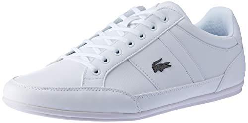 Lacoste Herren Chaymon BL 1 CMA Plimsolls, Weiß (White/White), 41 EU