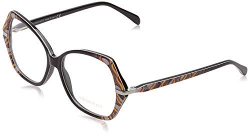 Emilio Pucci Unisex-Erwachsene Ep5039 Brillengestelle, Schwarz (NERO), 54