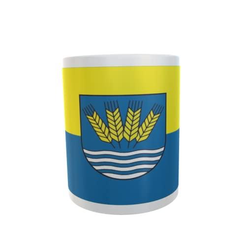 U24 Tasse Kaffeebecher Mug Cup Flagge Klötze OT Neuendorf