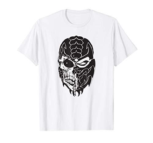 Mortal Kombat 9 Scorpion Skull Icon T-Shirt