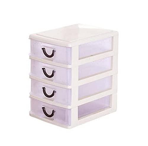 N\C Caja de Almacenamiento de Escritorio Simple Creativa Caja de Almacenamiento de cosméticos Mini Caja de Almacenamiento de Joyas Caja de Almacenamiento de cajones para el hogar