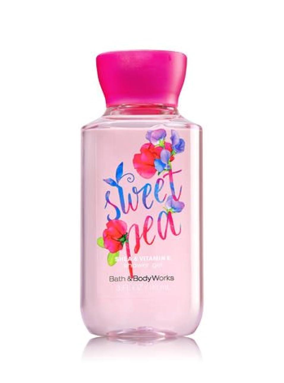 毎年統計首尾一貫したバス&ボディワークス スイトピーシャワージェル トラベルサイズ Sweet pea shower gel Travel-Size [並行輸入品]