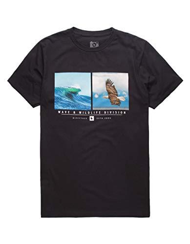 Hippytree Camiseta Wingshore Negro