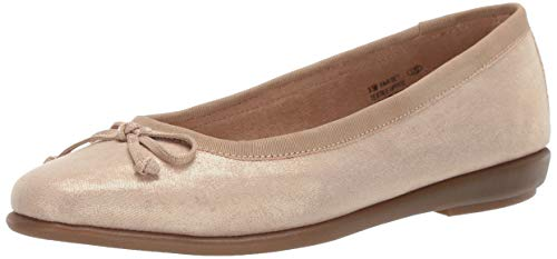 Aerosoles A2 FAIR Bet Ballet Flat, Gold Metallic, 9.5 M US